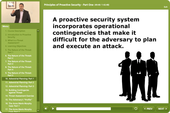 Principles of Proactive Security