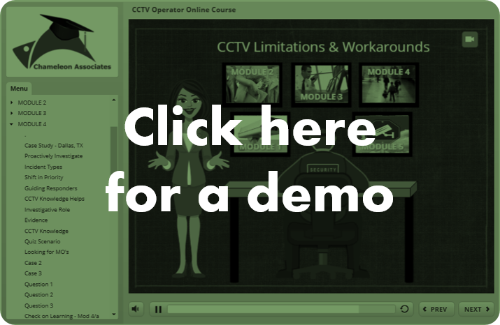 Demo CCTV Course By Chameleon Associates