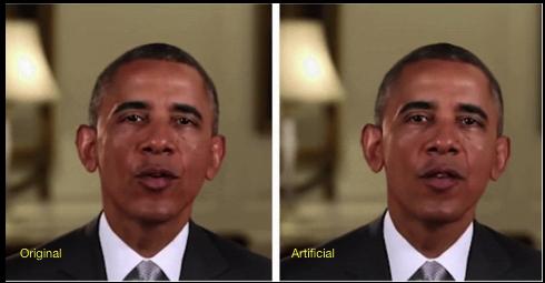 Deep Take Artificially Created Video