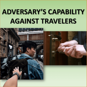 capability against traveler