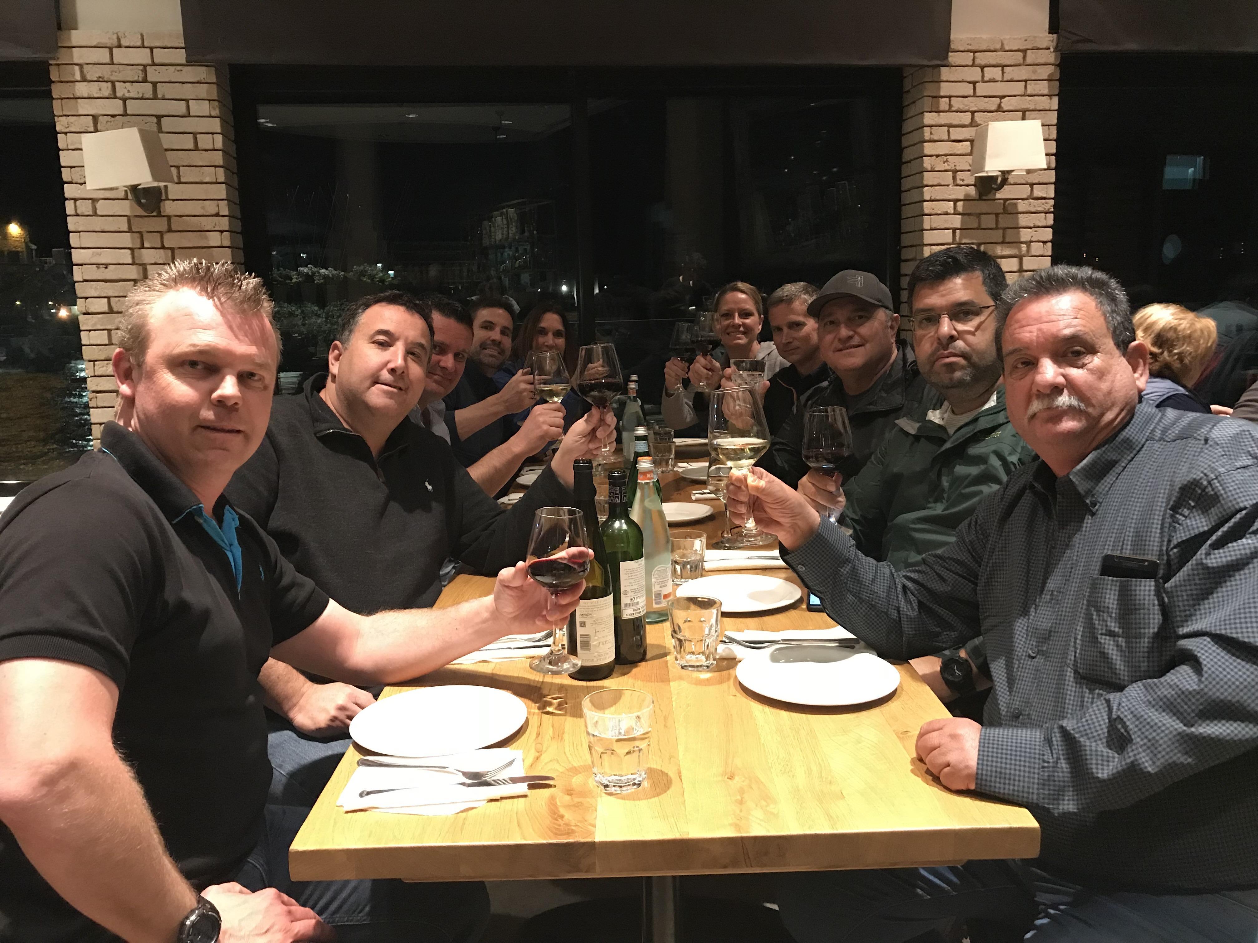 Dinner in Caesarea Chameleon Associates