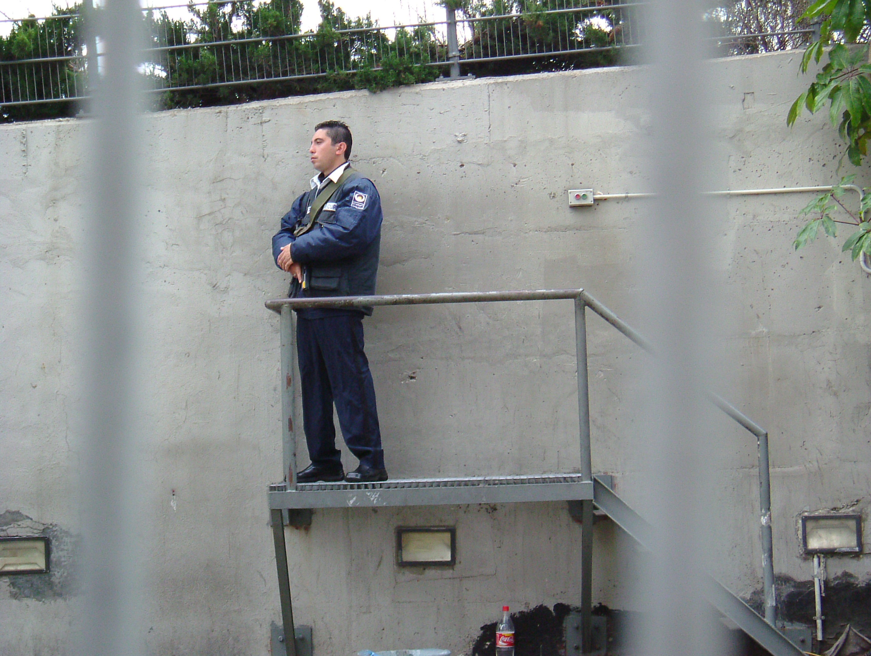 Israeli Security Officer