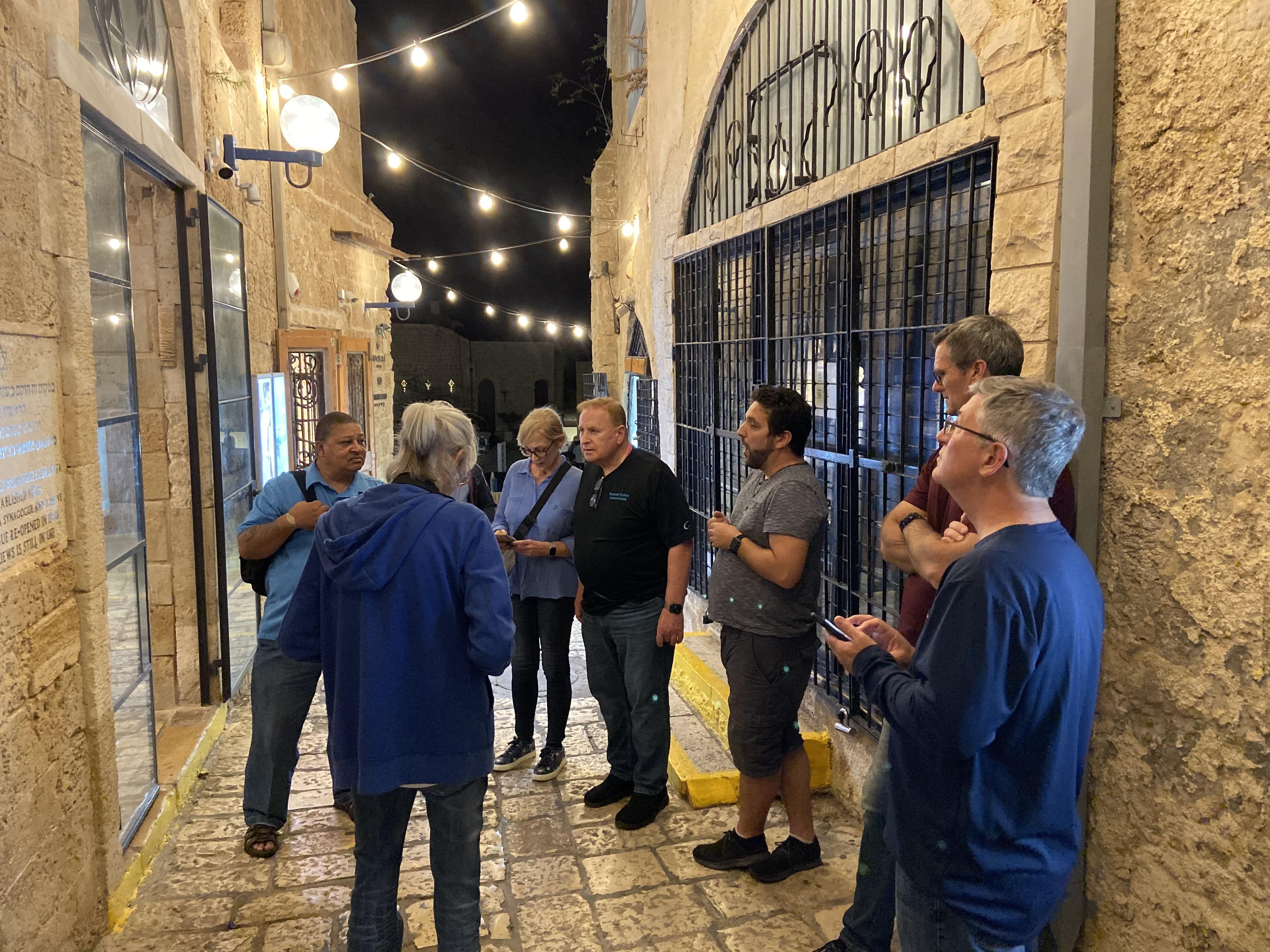Jaffa Evening Tour Chameleon Associates