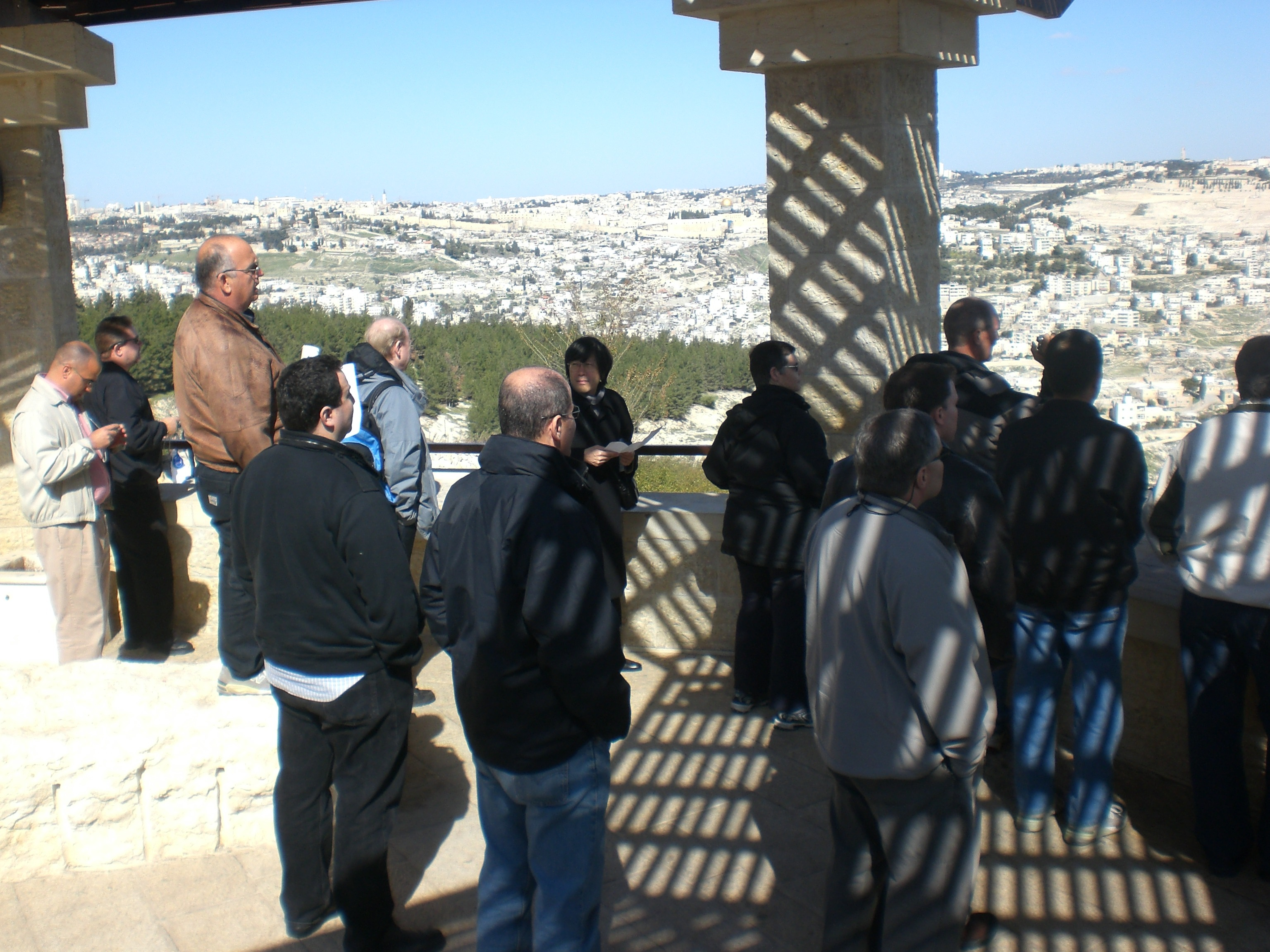 Jerusalem Security tour Chameleon Associates
