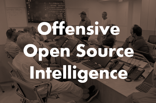 Offensive Open Source Intelligence Seminar By Chameleon Associates