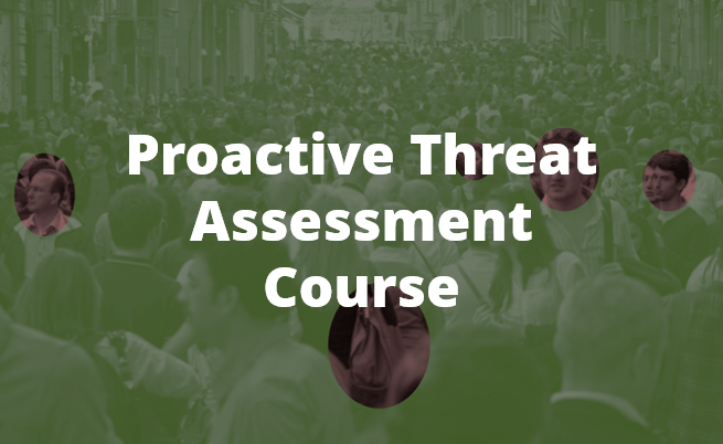 Proactive Threat Assessment Course By Chameleon Associates