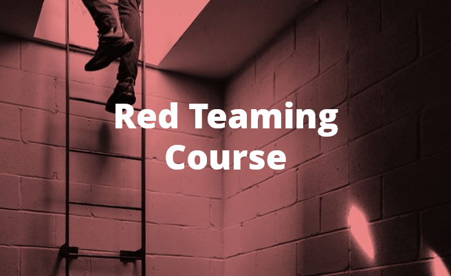 Red Teaming Training Course By Chameleon Associates
