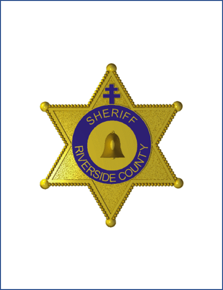 Riverside sheriff department