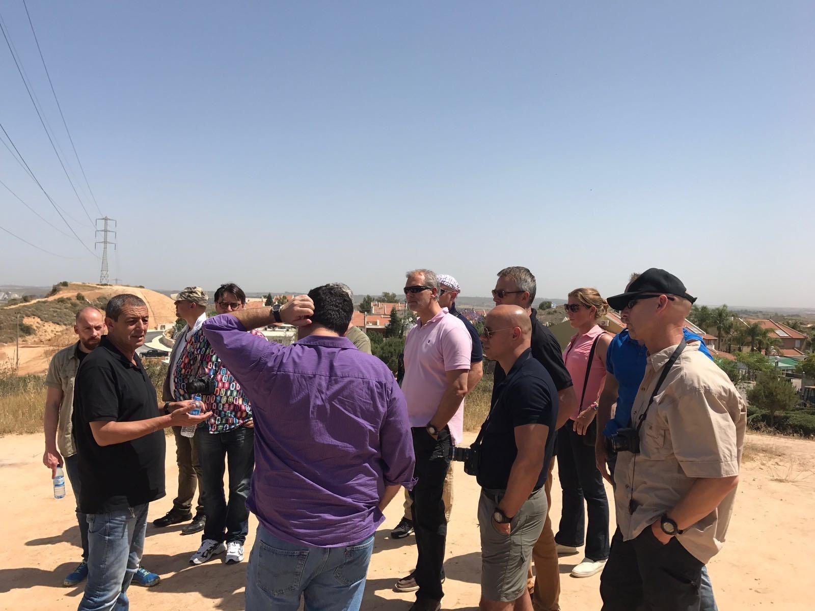 Sderot tour Chameleon Associates