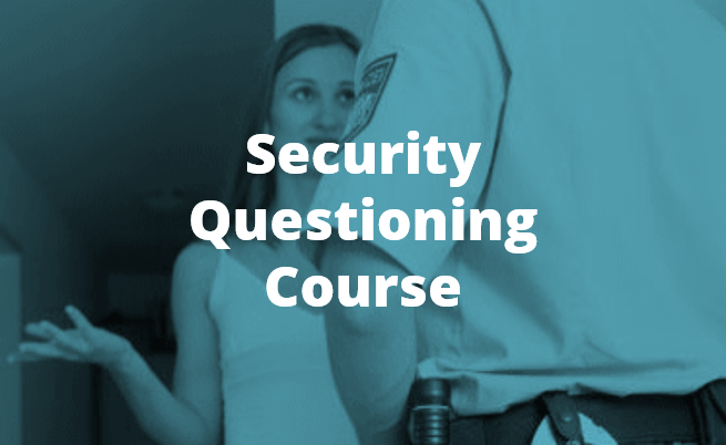 Security Questioning Training By Chameleon Associates