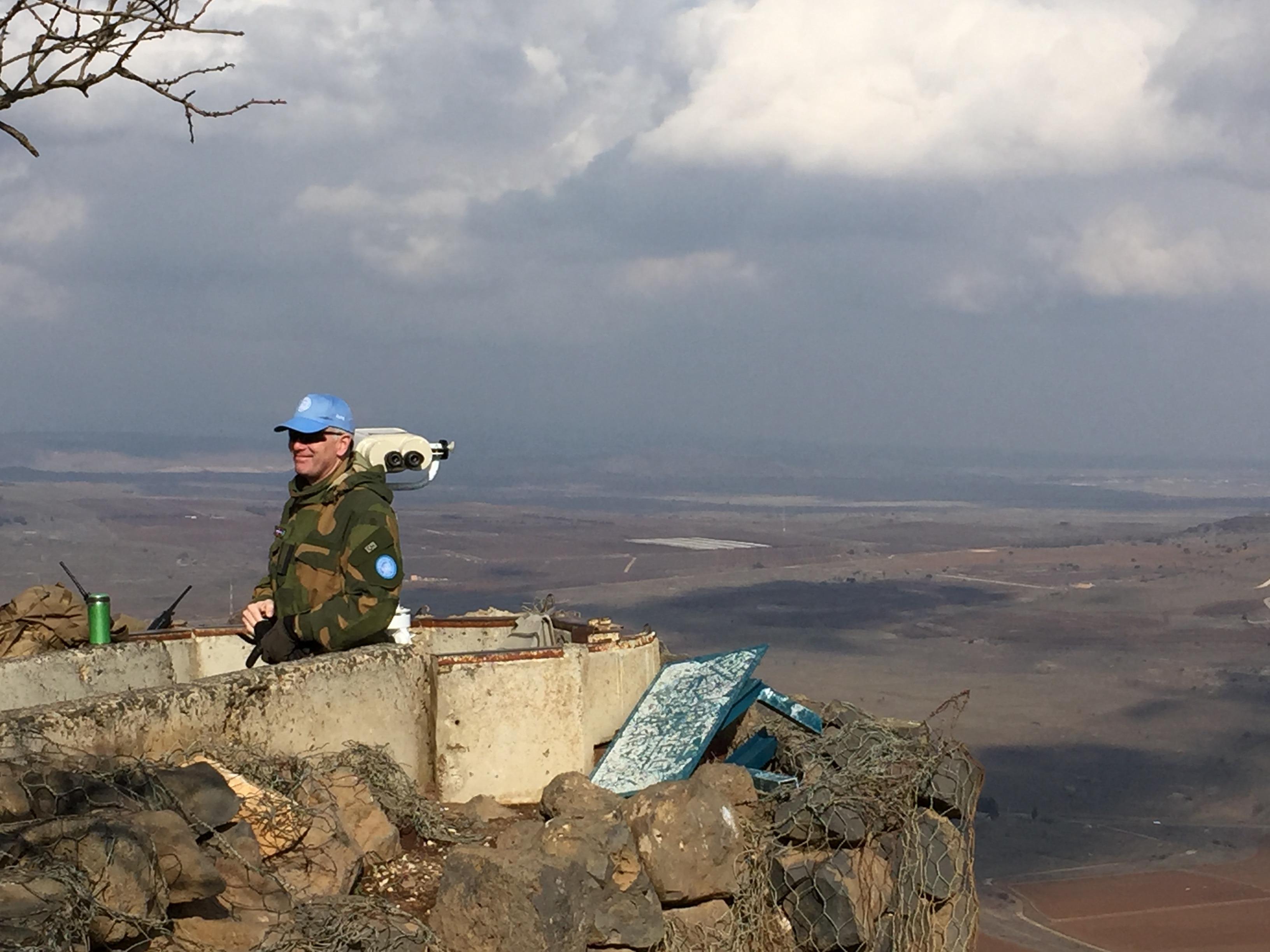 Golan Heights Visit