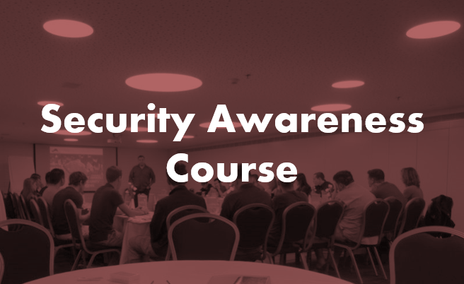 Security Awareness Course By Chameleon Associates