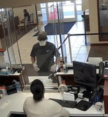 Covid Crime Bank Robber