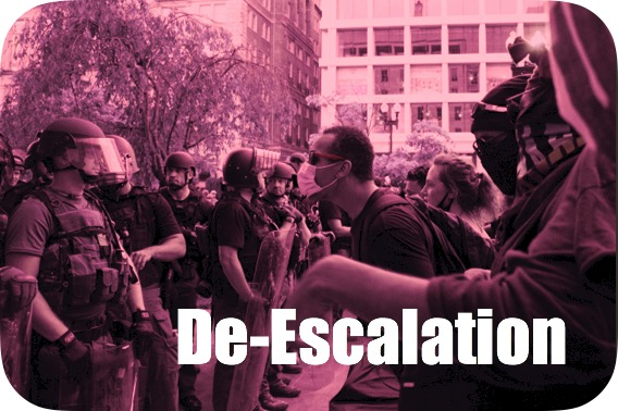 De-escalation online course icon