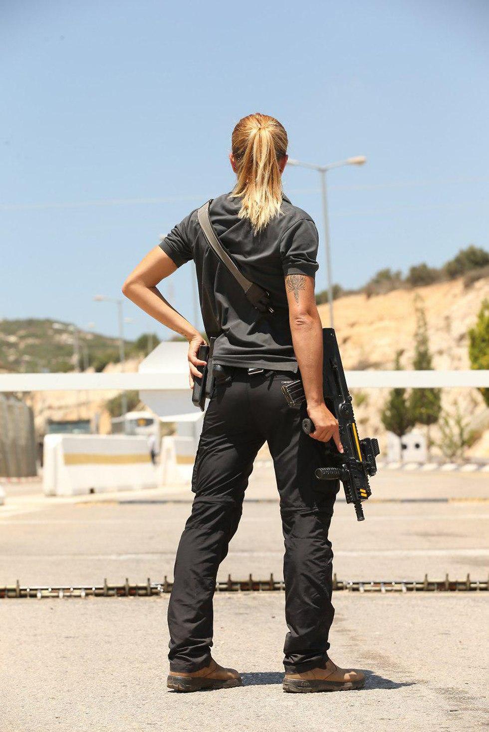 Israeli Female Security Officer